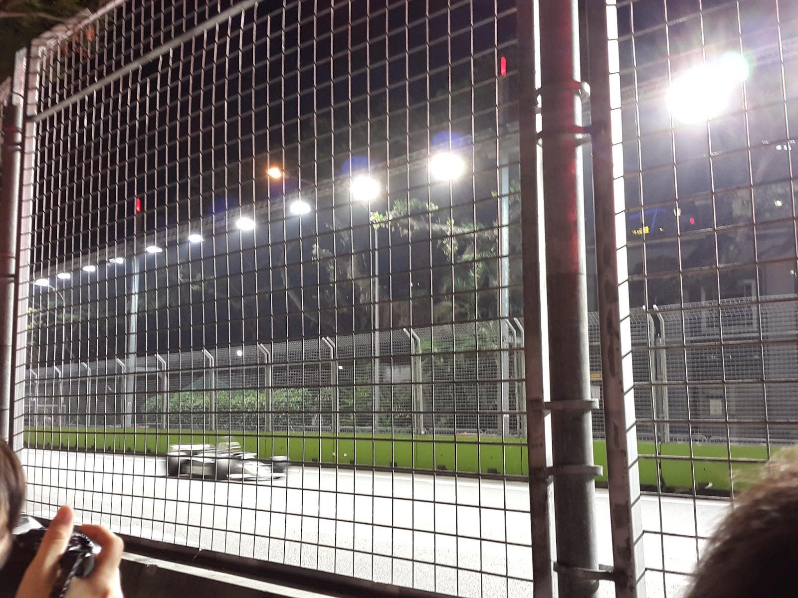 Walk-about area Singapore Formula 1 Race Night