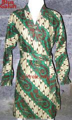 blus batik model baru