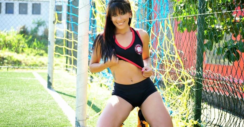 A Bela do Clube Atlético Paranaense, Aline Brandão