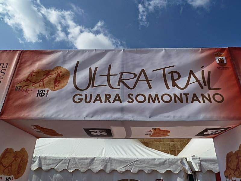 Ultra Trail Guara Somontano. Spain ultra cap