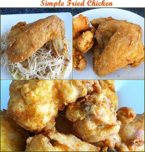 Busy Mum Cooking: Simple Fried Chicken (简单炸鸡)