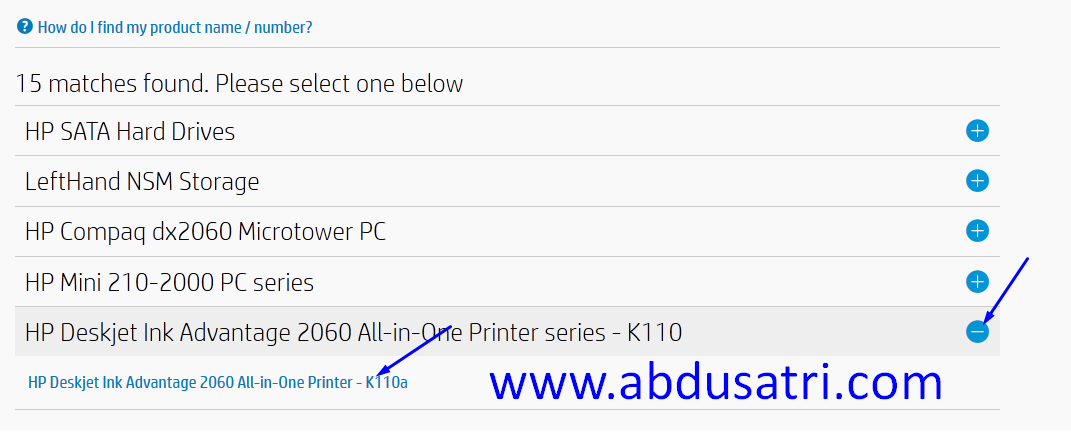 cara download driver printer di internet