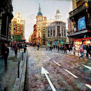 Hiperrealismo Paisajes Urbanos