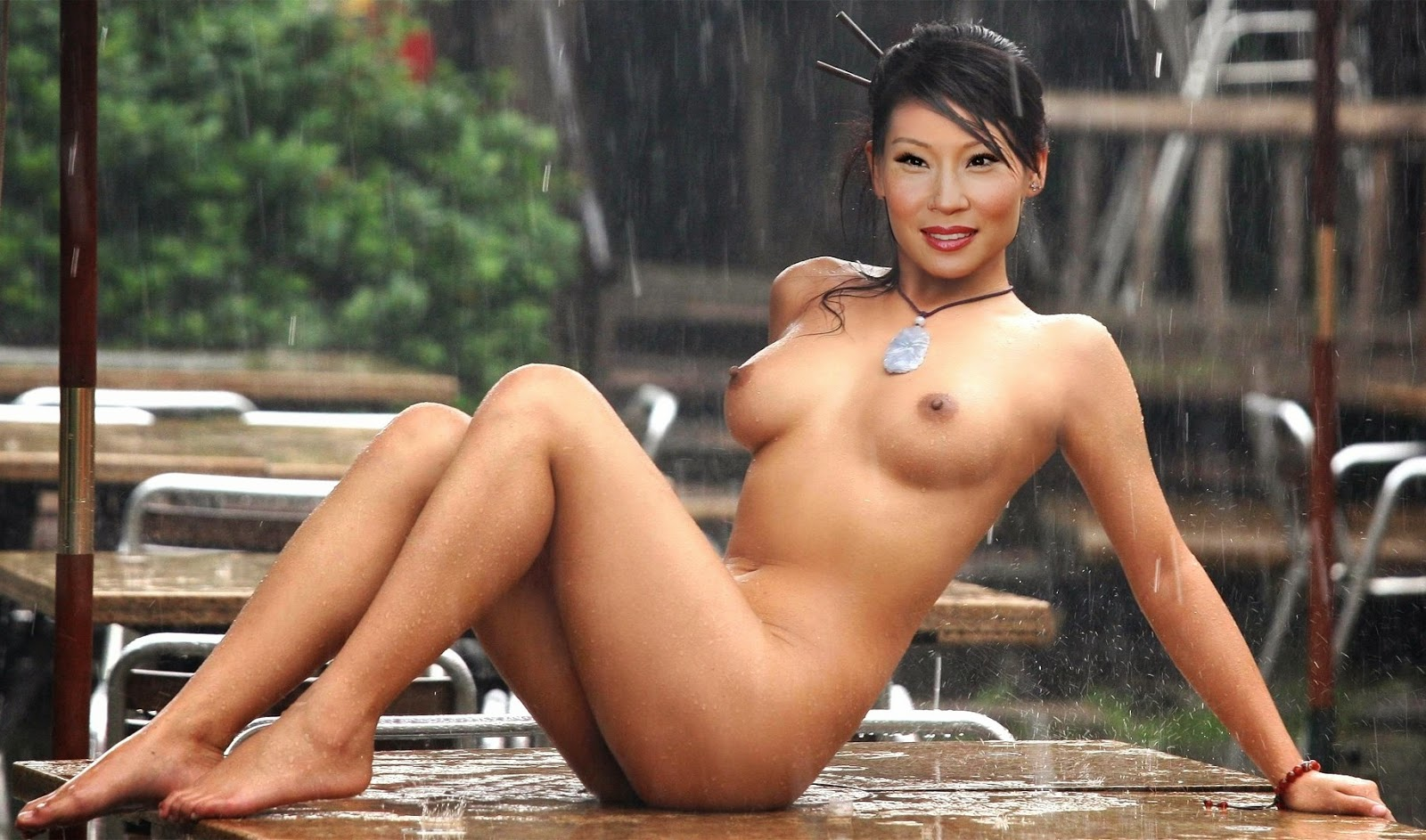 naked fake asian tits