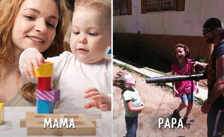 The Difference Between Mom And Dad's Parenting Styles 3