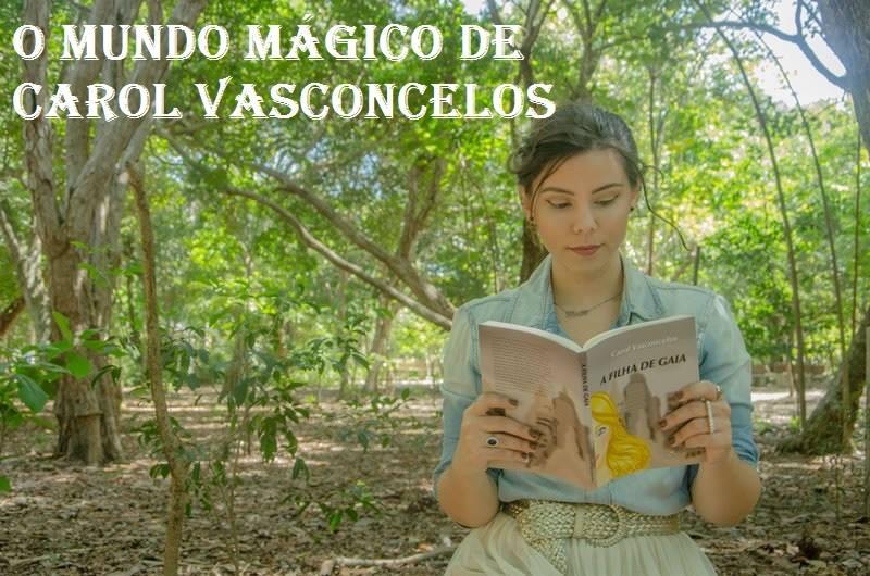 Escritora Carol Vasconcelos