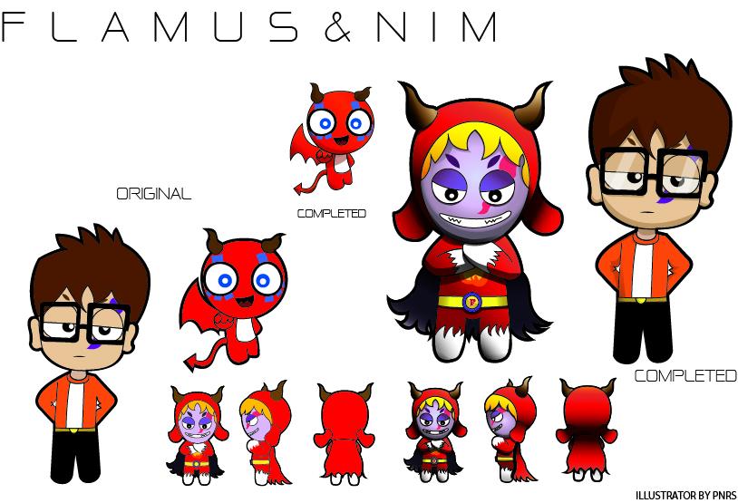 Character Design Intern : Pnrss character design sketching