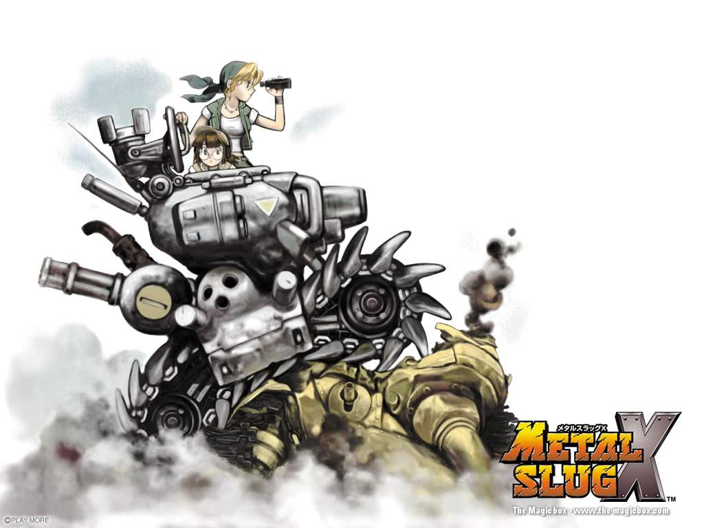 Metal Slug HD & Widescreen Wallpaper 0.954527463412999