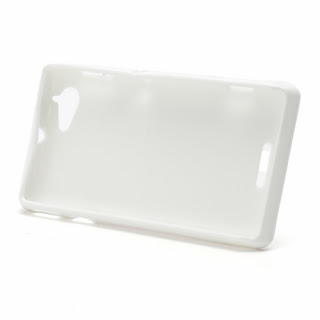 TPU Jelly Case Cover for Sony Xperia L S36h C2105 C2104 - White