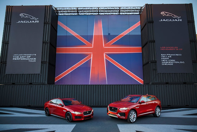2017Jaguar XE and F-Pace
