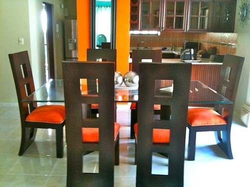 Comercial cobala s a comedores Juego de comedor 4 sillas moderno