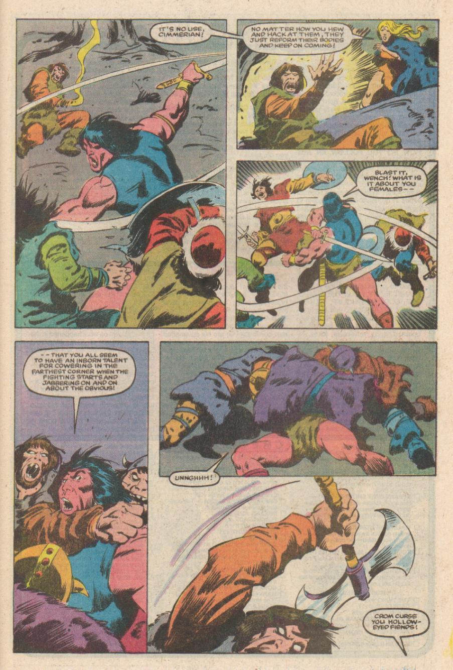 Conan the Barbarian (1970) Issue #169 #181 - English 21