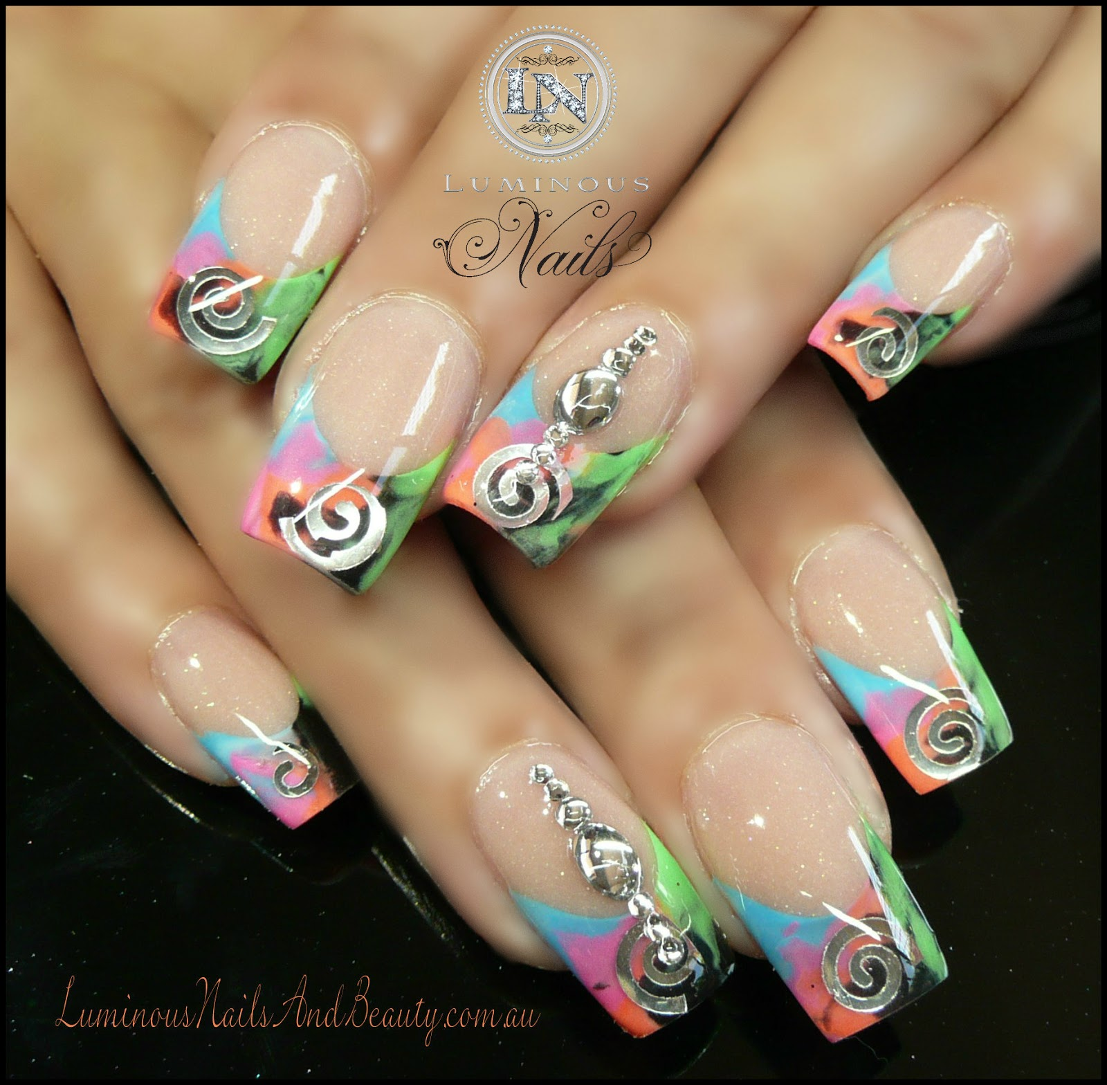 The Astounding Acrylic nails designs Pics