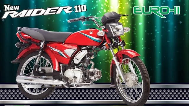 Suzuki Raider 110 Euro 2