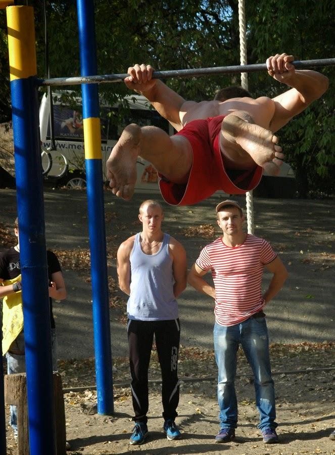 соревнования по Street Workout