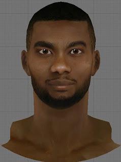 NBA 2K13 Corey Brewer Cyberface Patch