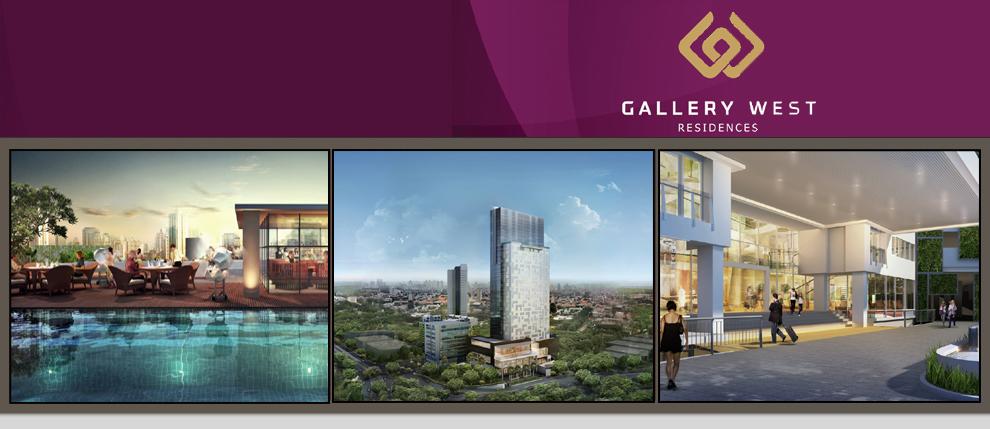 Gallery West Apartemen di Kebon Jeruk Jakarta