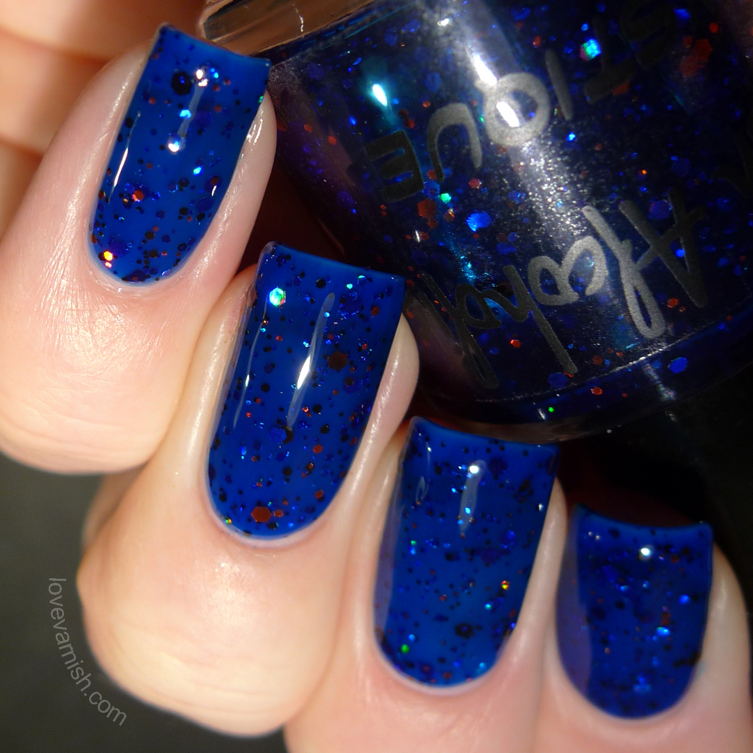 Polish Alcoholic Superheroes Mystique swatches review