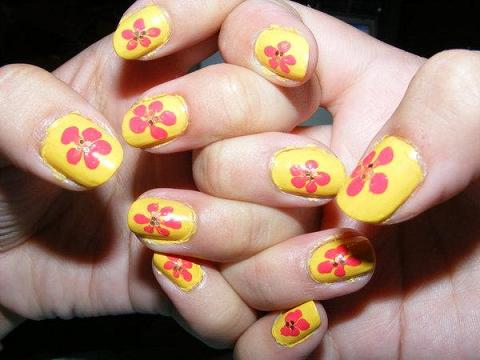 nail art quality best quality flower designs nail art