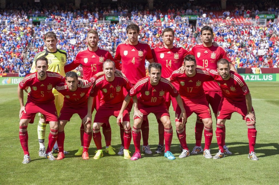 Spain National Football Team Photo 2014