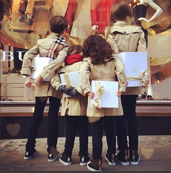 instagram burberry