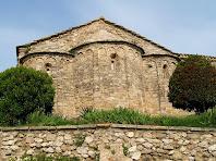 Absis de l'església de Santa Maria de la Tossa
