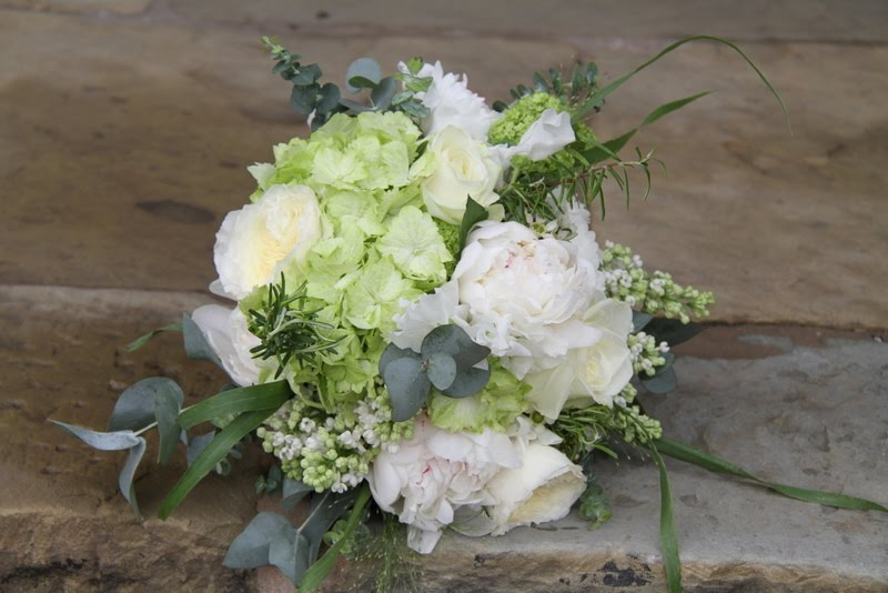 I absolutely adore this Bouquet the shades of Green are just so perfect in
