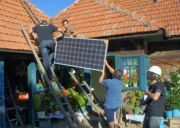 Instalare panouri solare la Ursici