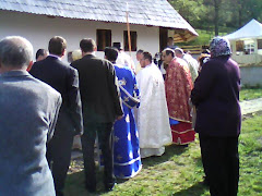 De la Sfintirea bisericii GRUSETU, comuna Costesti, judetul Valcea