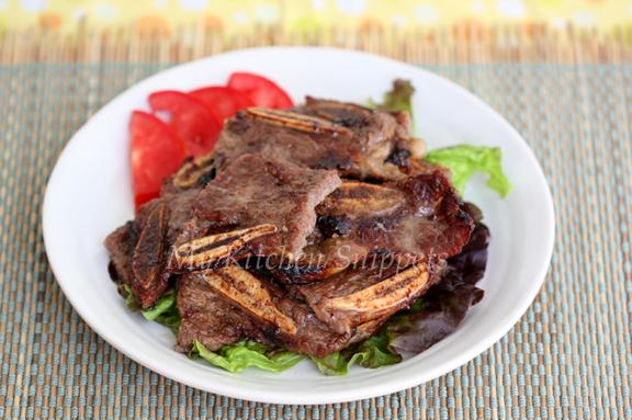 My Kitchen Snippets: Kalbi/Korean BBQ Short Ribs