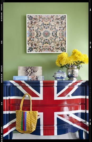 Before & After: Union Jack Chest