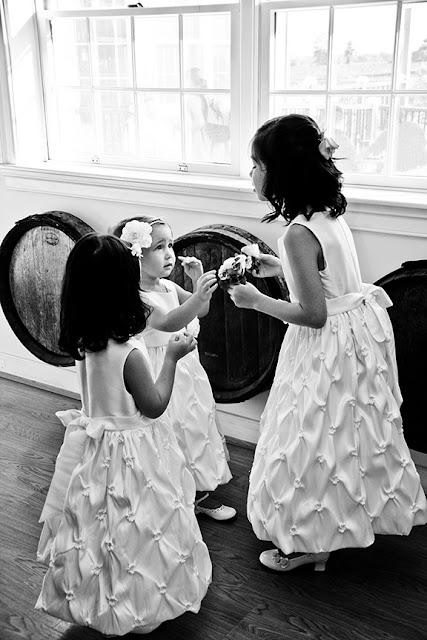 Flower Girls Doukenie Winery| Whysall Photography