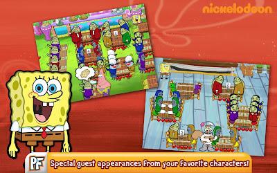 SpongeBob Diner Dash Apk v3.24.25 MOD