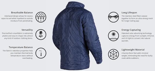 Solar Powered Jacket