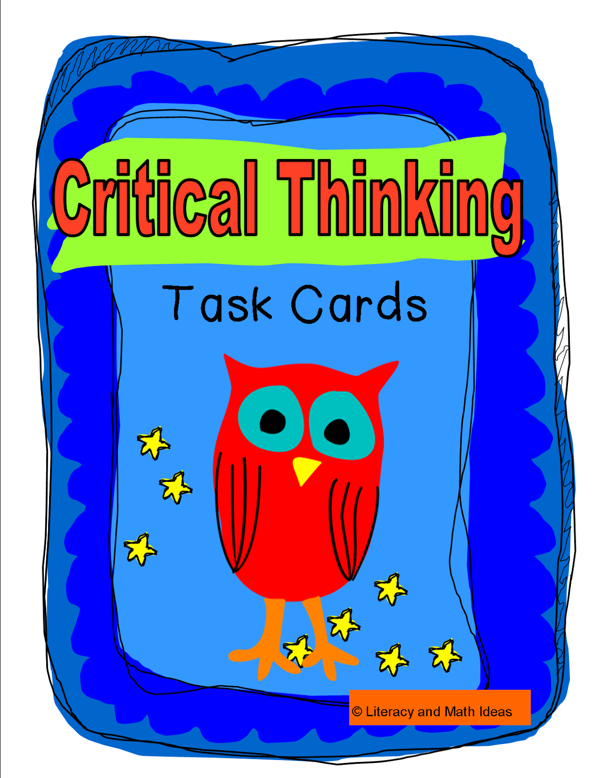 math and critical thinking skills Improve problem-solving skills with this spectrum(r) math workbook for critical thinking.