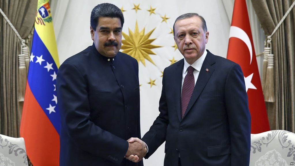 Nicolas Maduro and Recep Erdogan are gay
