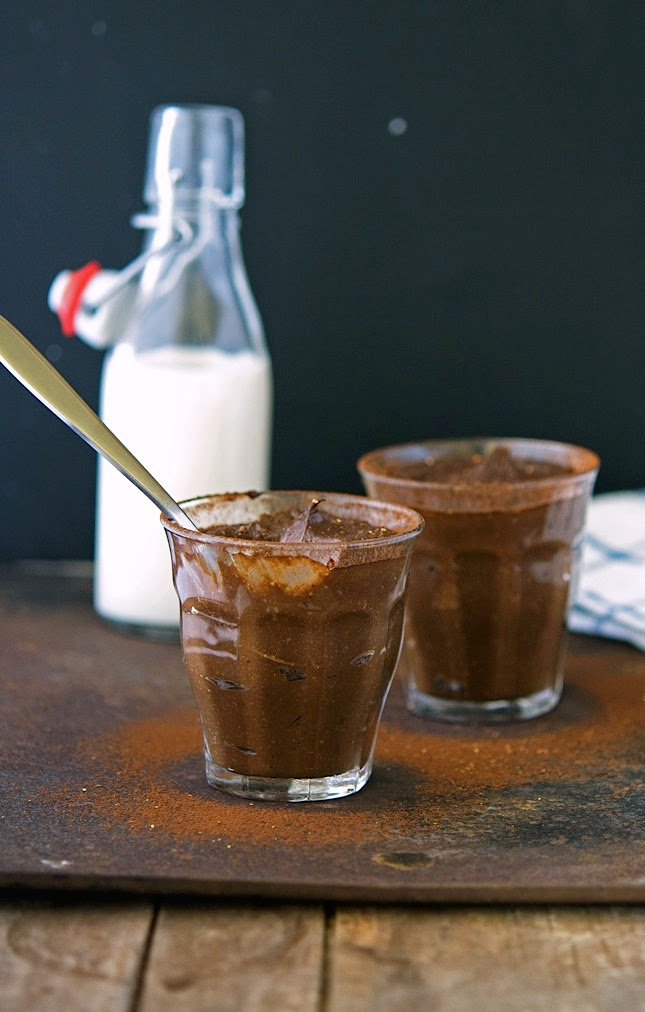 Spiced Raw Chocolate Mousse