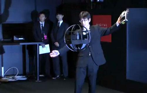 Robot Bola Buatan Jepang...ayeeeee, bisa terbang Spherical-Flying-Machine