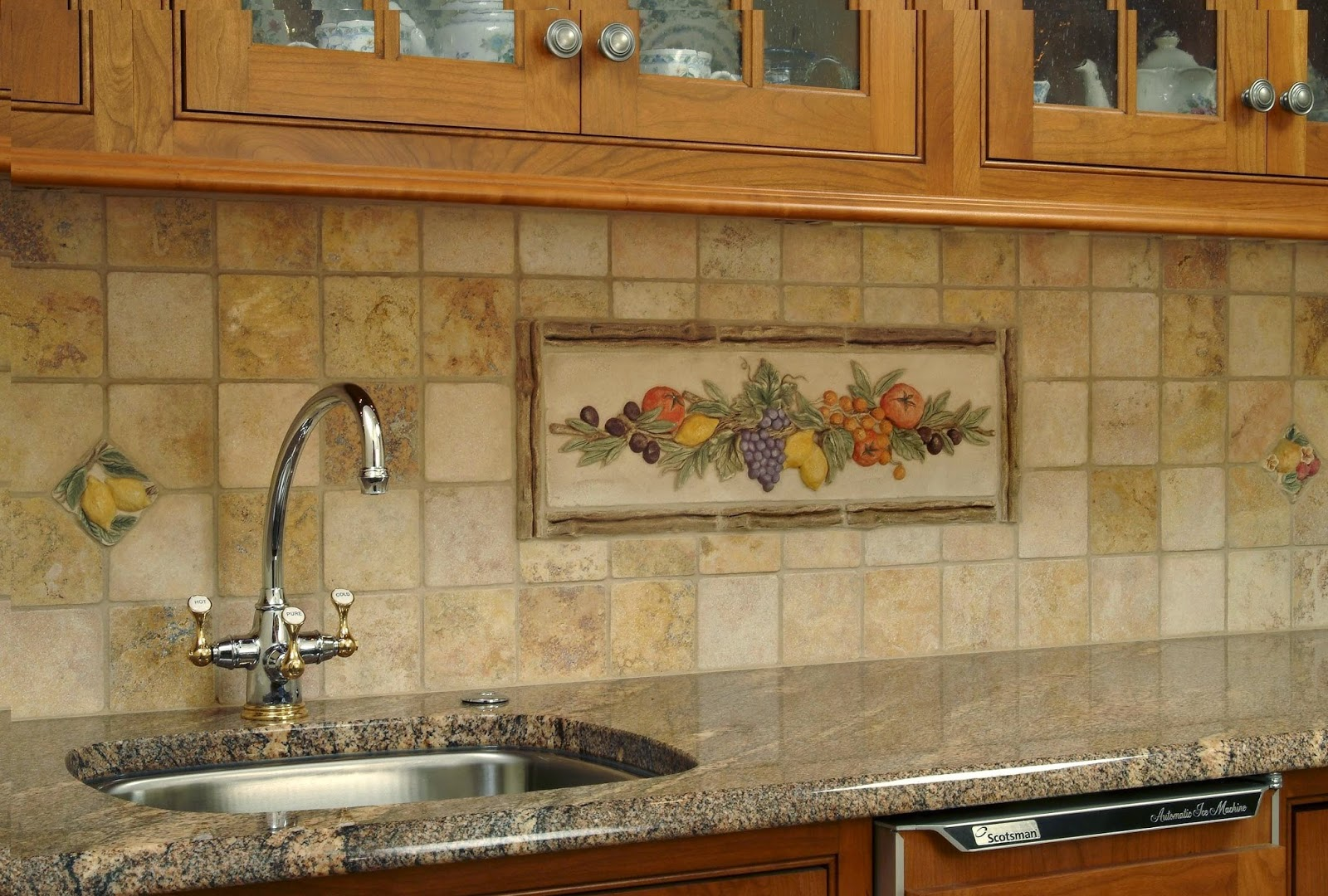 Kitchen Tile Backsplash Murals