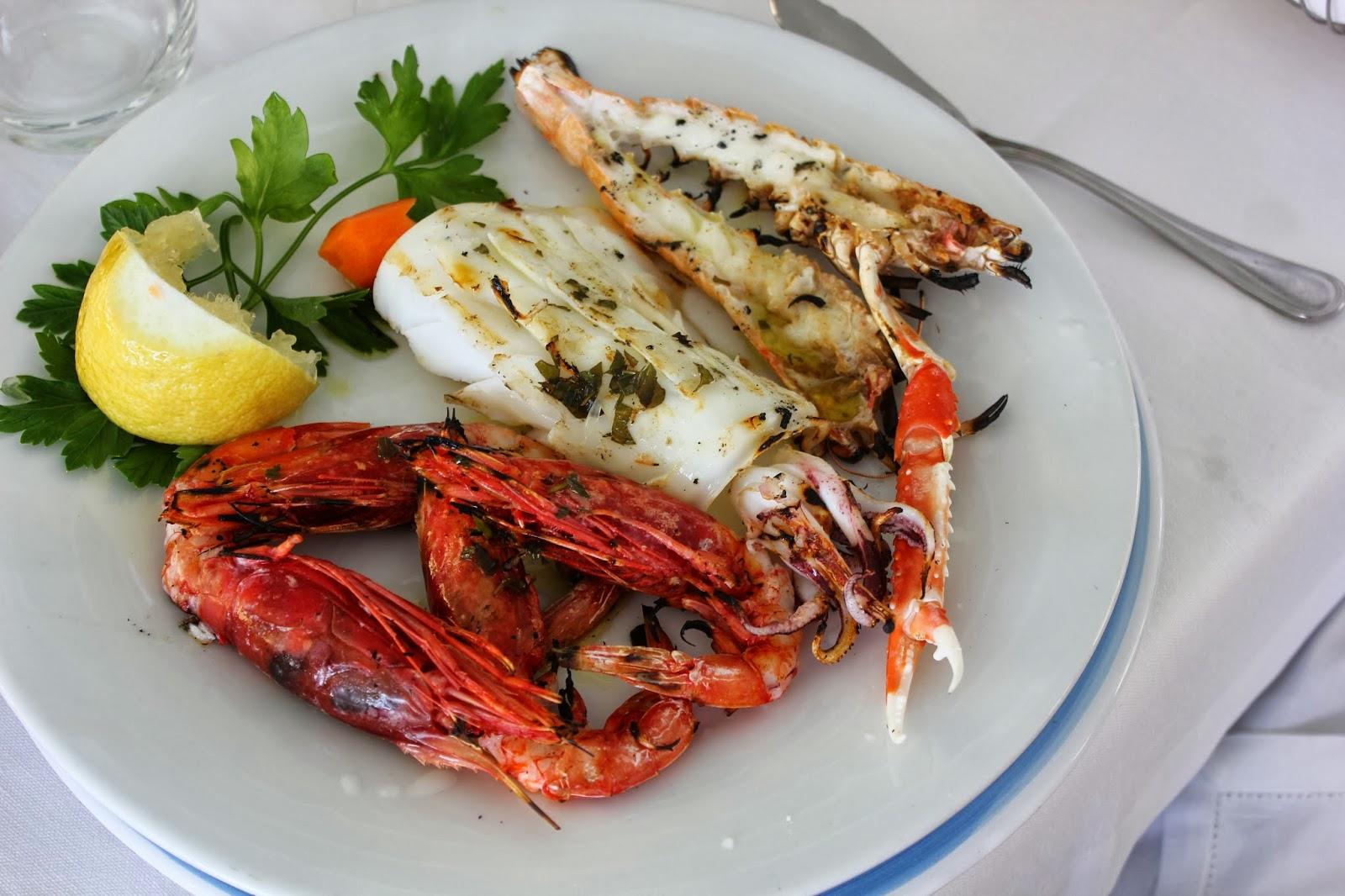 Sicily and amalfi coast 2013 lunch at lido azzurro for Amalfi coast cuisine