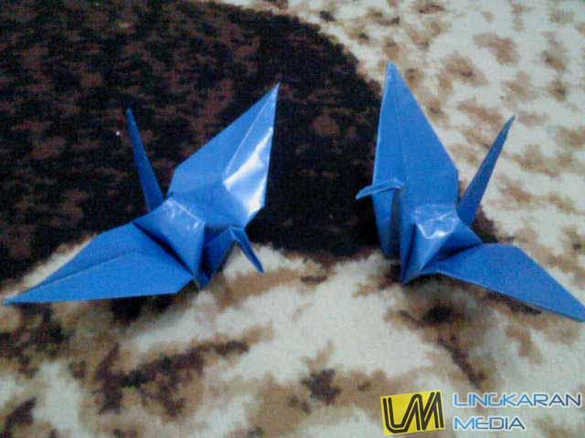 Cara dan Langkah Membuat Origami Burung [Update]