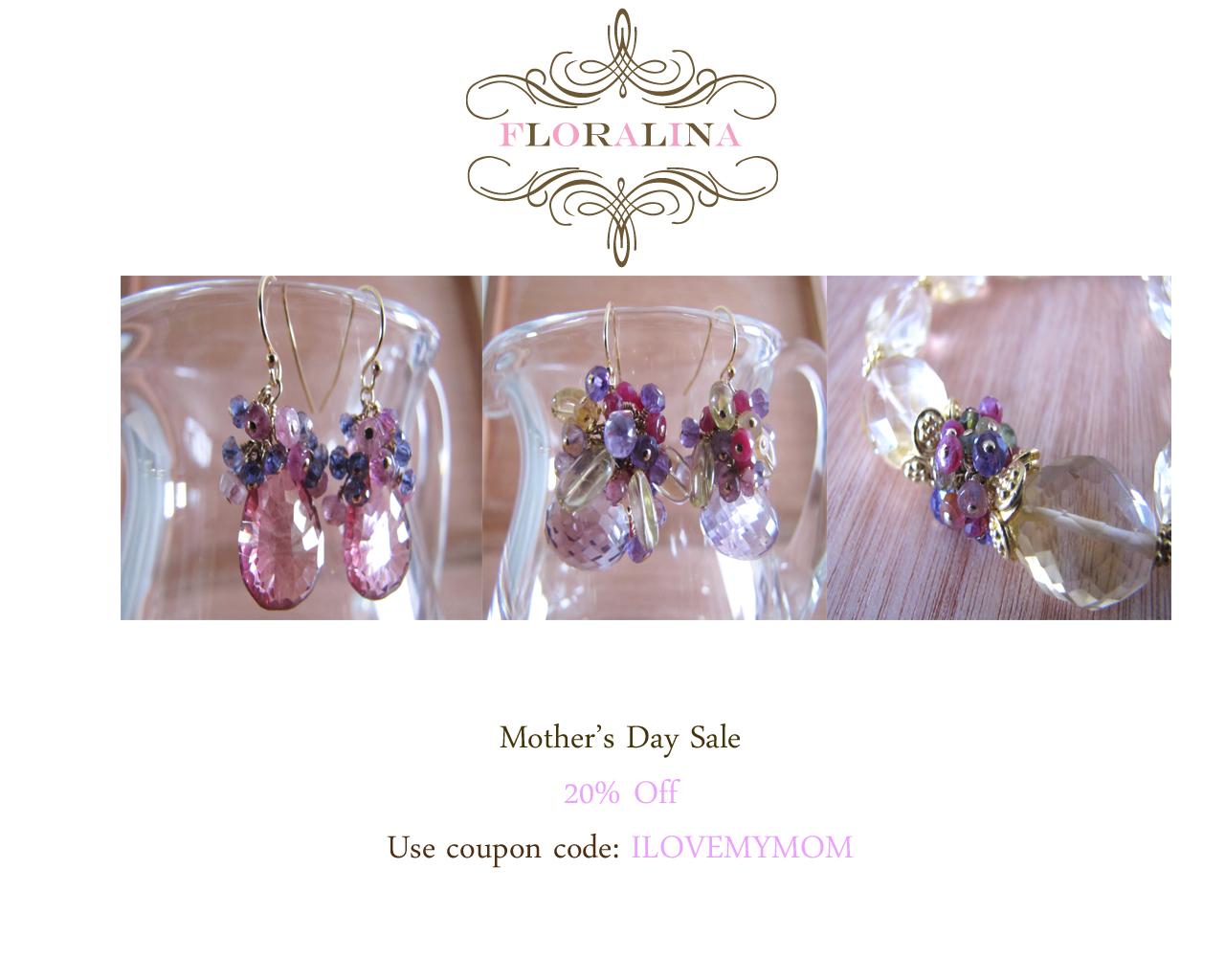 FLORALINA: Mother's Day Jewelry Gift Ideas