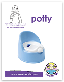 ASL - Potty - baby sign language - WeeHands
