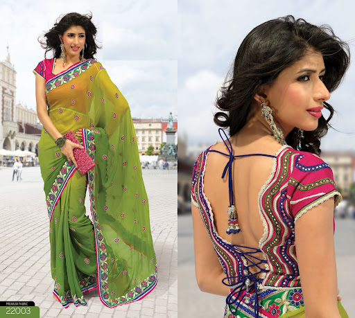 New Collection Of Designer Blouses 89