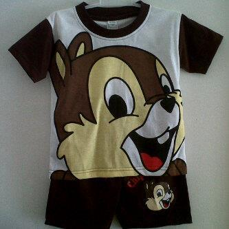 baju kartun chip and dale