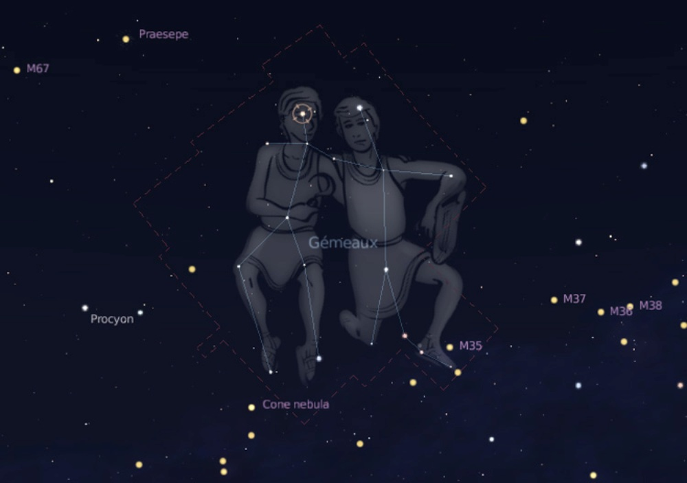 Zodiacal constellations: Gemini
