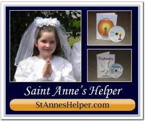 Buy your Catholic Supplies from St Anne's Helper