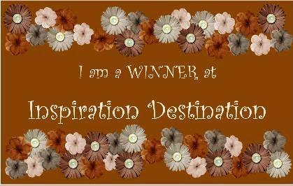 WINNER - INSPIRATION DESTINATION - CHALLENGE 69 ANYTHING GOES - 20 JAN 2016