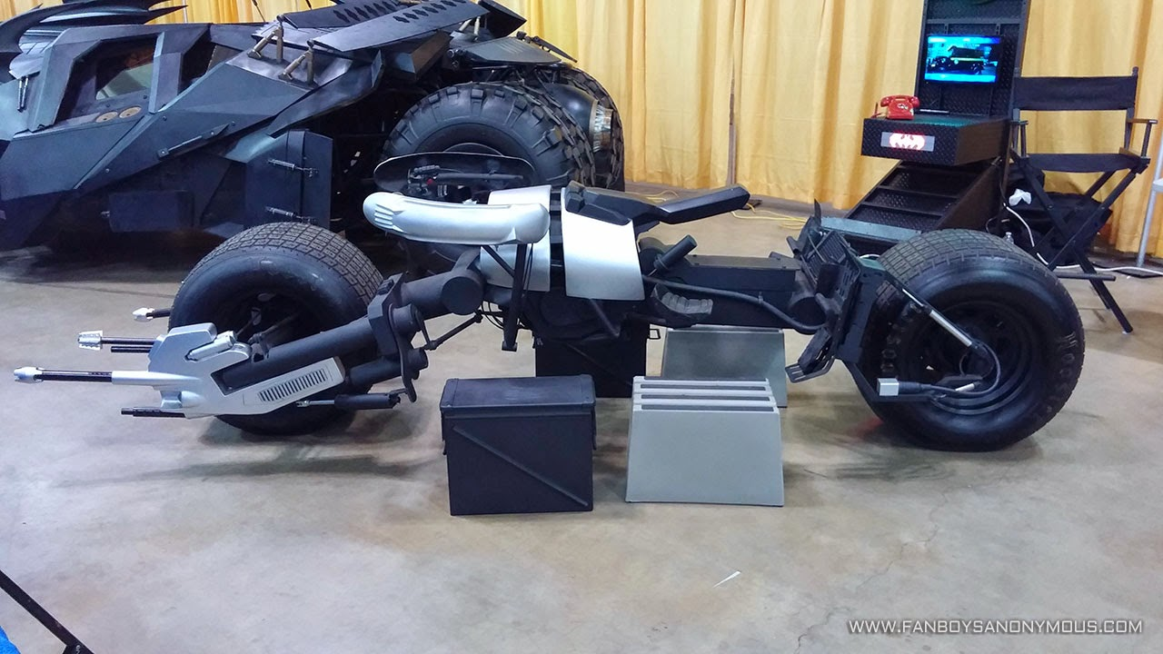 The Dark Knight replica Batpod car