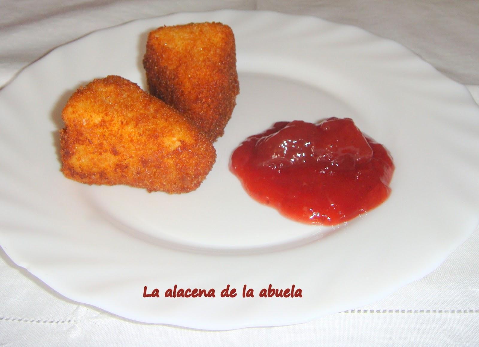 La alacena de la abuela carmen camembert empanado con for Cocina casera de la abuela